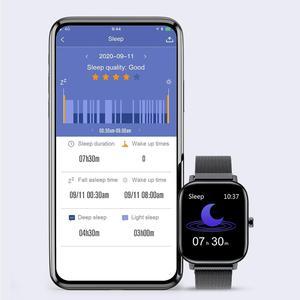 Image 4 - Senbono Sport I10 Smart Horloge Fitness Tracker Ondersteuning Hartslagmeter Armband Smartwatch Mannen Vrouwen Voor Bluetooth Ios Android