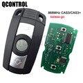 QCONTROL дистанционный смарт-ключ без ключа для BMW 1/3/5 серии CAS3 868MHz X5 X6 Z4 с чипом, удобный доступ, свободные руки