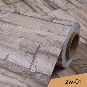 Image 3 - 0.4x5M Vintage 3D Living Room TV Background Wall Paper Brick Pattern Wall Painting Bedroom Wallpaper Self Adhesive Wallcovering