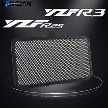 Защитная крышка радиатора для мотоцикла Yamaha YZF R25 R3 YZFR25 YZFR3 2014 2015 2016 2017 2018 2019 2020 аксессуары