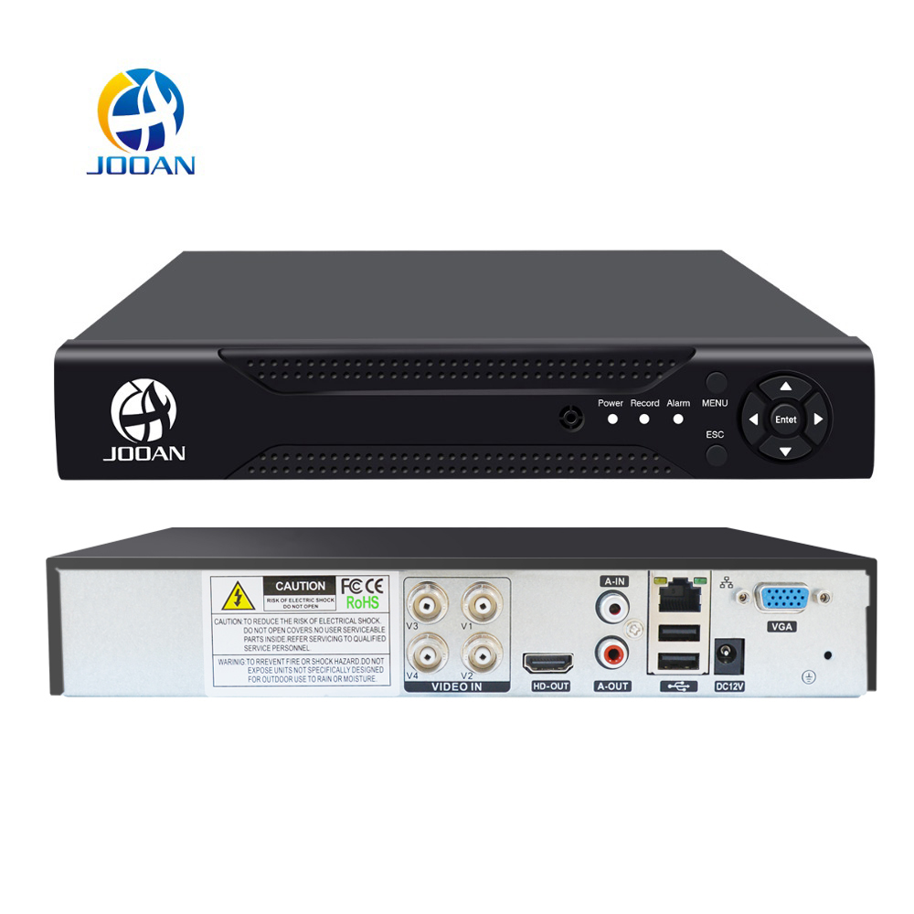 4 Channel DVR Video Recorder For CCTV Kit Security Camera H.264 1080P IP Camera Video Surveillance DVR NVR HDMI VGA CVBS Onvif