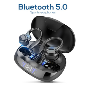 Image 1 - TWS Bluetooth 5.0หูฟังไมโครโฟนหูฟังLEDจอแสดงผลไร้สายHiFiสเตอริโอหูฟังกันน้ำชุดหูฟัง