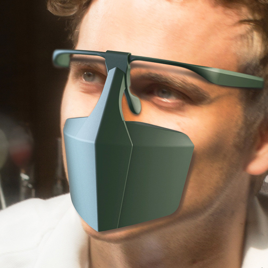 Person - Mask for Face Women Face Mask Splash Spray Protective Equipment Mondmasker Scarf Mascarilla Re-utilizable