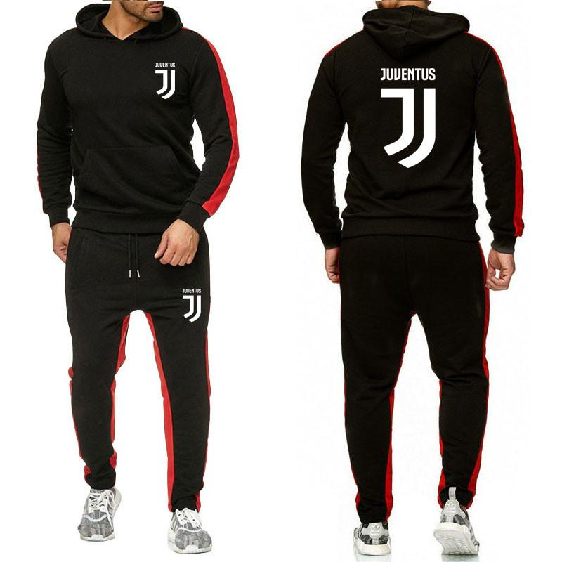 2019 Jogger Suit Male Tracksuit Sets YUANHUIJIA Brand Sporting Suit Men Suit Men Hoodies Sets Mens Gyms Sportswear