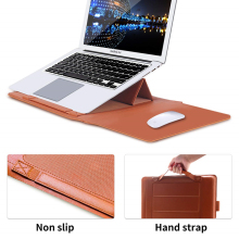 Hot Sale Computer Bag Pu Laptop Sleeve Bag For Macbook Air13 ,macbook Pro 13 For 15 Inch Leather Case Carry Pouch  цены