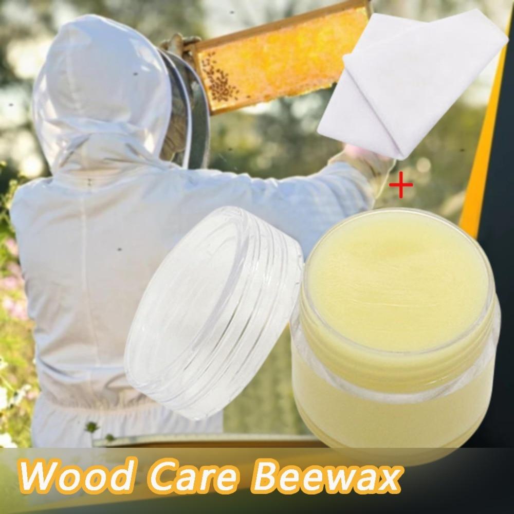 Wood Seasoning Beewax Wood Care Wax Solid Wood Maintenance (2)