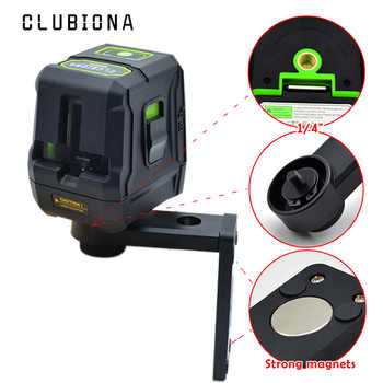 CE certificated Fall protection Palm accurate GREEN BEAM laser lines self-leveling tilt slash level laser with magnetic bracket - DISCOUNT ITEM  49 OFF Tools