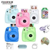 Original Fujifilm Fuji Instax Mini 9 Instant Film Photo Camera + 20 Sheets Fujifilm Instax Mini 8/9 Films