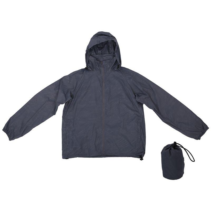 Super sell Outdoor Unisex Cycling Running Waterproof Windproof Jacket Rain Coat  Light Grey XL|Hiking Jackets| |  - title=