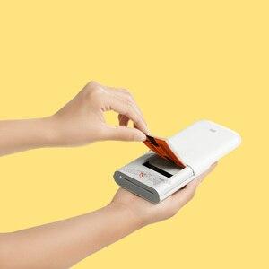 Image 3 - Xiaomi Mijia AR מדפסת 300dpi נייד תמונה מיני כיס עם נתח DIY 500mAh תמונה מדפסת כיס מדפסת עבודה עם Mijia