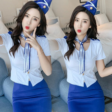 Stewardess Sexy Costumes Uniform Sexy Lingerie Cosplay For Women Sexy Underwear Erotic Lenceria Clothes
