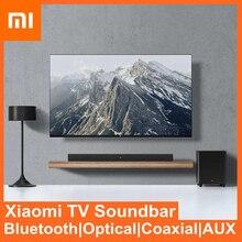 Xiaomi Bluetooth динамик для домашнего кинотеатра Bluetooth 5,0 беспроводной AUX оптический проводной 100 Вт Саундбар 6,5 дюйма сабвуфер звуковая система дл...
