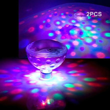 Glow Floating Bath Tub Pond Ball Bulbs Children LED Kids Toys Baby Colorful Decoration Lamp Swimming Pool Spa Underwater Light(China)