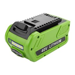 40V 6000mAh Rechargeable Replacement Battery for Creabest 40V 200W GreenWorks 29462 29472 22272 G-MAX GMAX L30