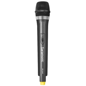 Saramonic Hm4C 4 Channel Vhf Wireless Handheld Microphone with integrated Transmitter for The Sr-Wm4C Wireless System