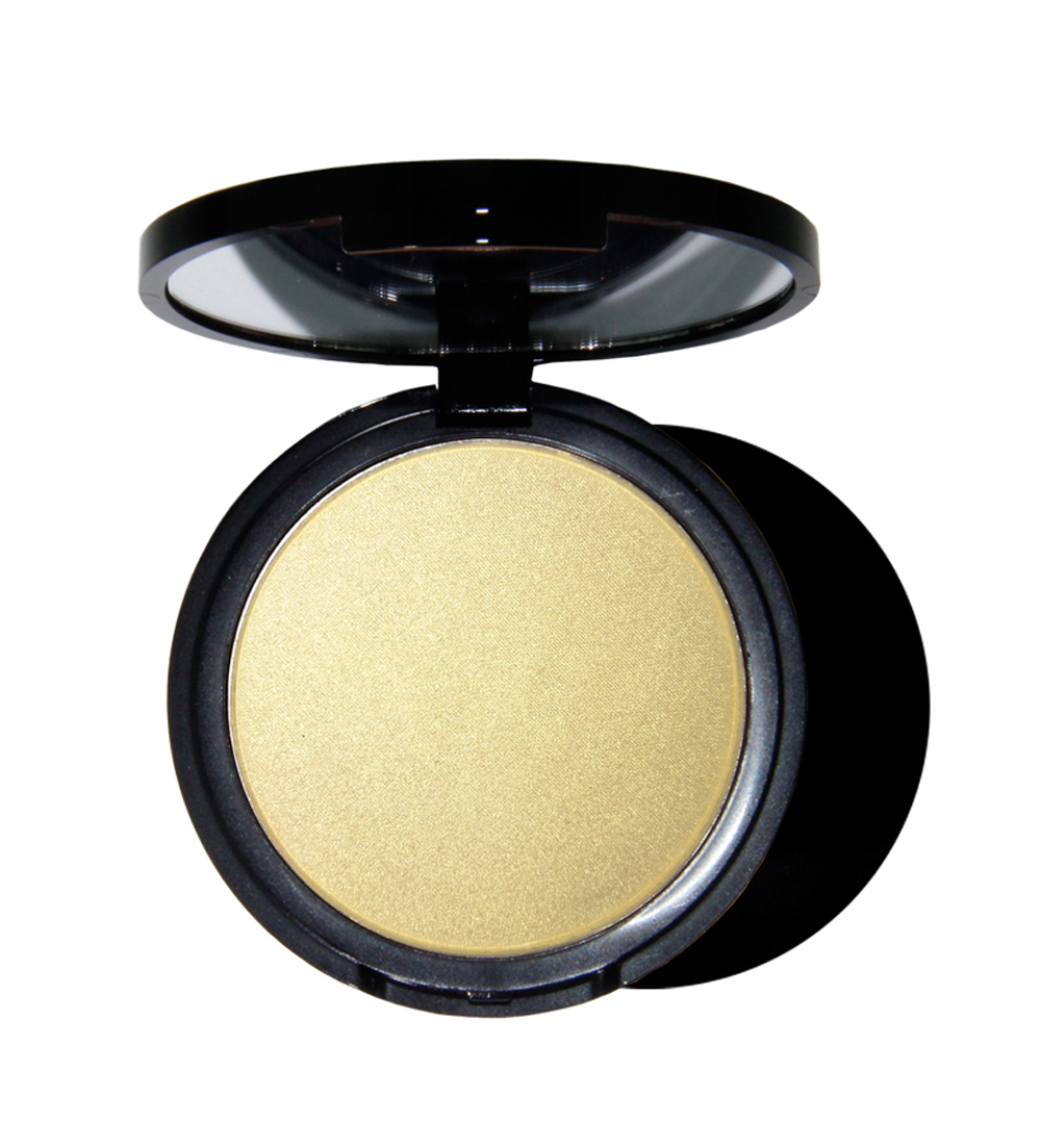 OEM pressed highlighter makeup face shimmer concealer highlighter powder vegan custom private label