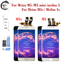 LCD For Meizu M5 M5s LCD M5 mini M5mini Display Touch Screen Digitizer Assembly Meilan 5 M611A M611H M611D Display Meilan 5s LCD