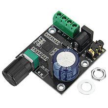 لوحة مكبر صوت ستيريو رقمية نقية 12 فولت تيار مستمر ، قناة مزدوجة ، فئة D ، 15 واط × 2 ، وحدة مضخم طاقة عالية