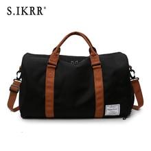 S.IKRR Sport Bag Travel Bag Practical Woman Weekend Bag Packing Cubes Luggage Bag Duffle Bag Women Luggage Organizer Big Bag