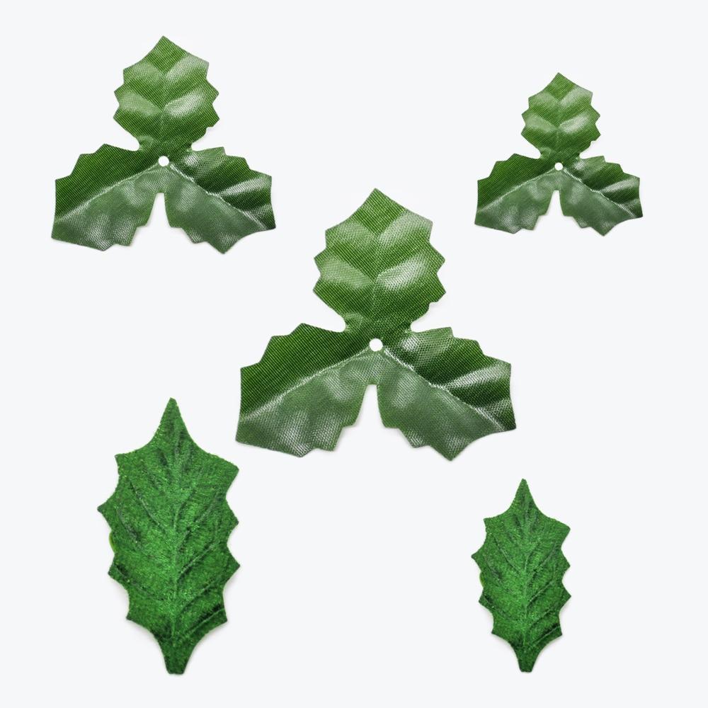 100 шт. искусственные розы, цветы, листья, дешевые шелковые зеленые листья, рождественское свадебное украшение для дома, искусственные растен...