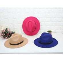 Шляпа в британском стиле для мужчин и женщин простая Классическая