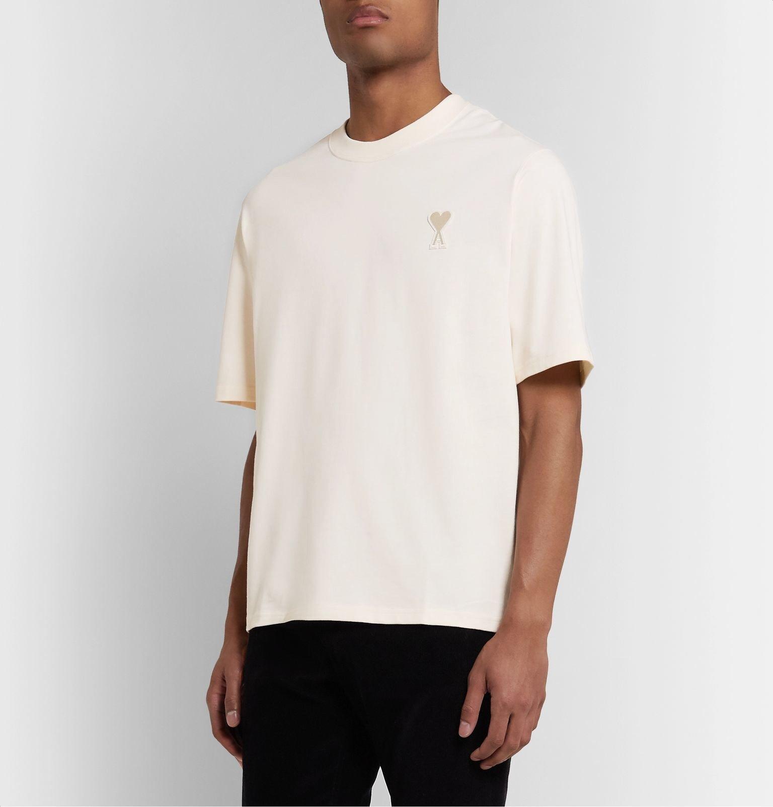 AMI Alexandre Mattiussi T Shirt 1:1 Real Tag 20ss Men Women Summer Style Top Version Small Logo Top Tees Mens AMI T-shirts