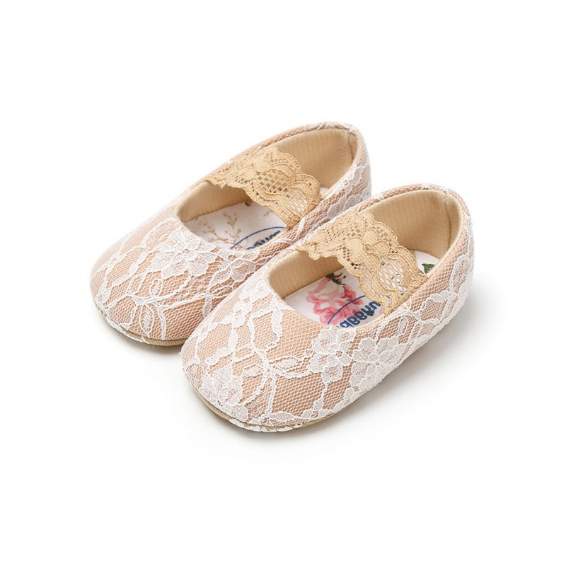 Baby Girls Shoes 2019 Spring Lace Newborn Baby Shoes For Girls Prewalker First Walkers White Princess Shoes Birthday Gift