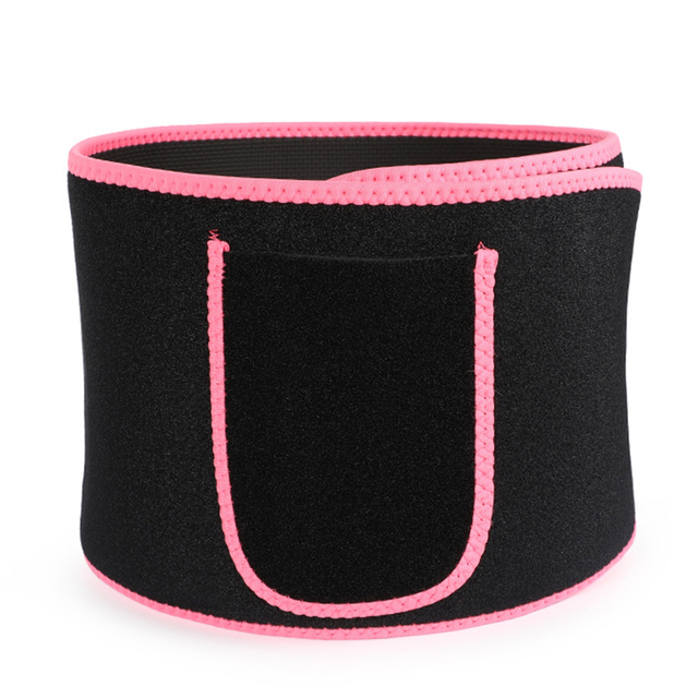 Adjustable Trimmer Waist Support Sweat Wrap Tummy Stomach Belly Weight Loss Exercise Elstiac Neoprene Body Belt Slimming 2