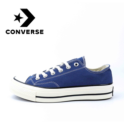 Original Authentic Converse All-star Skateboard Classic Shoes Unisex Canvas Low Top Cozy Leisure Lightweight Non-slip 162058C