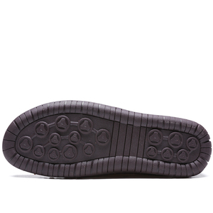 Image 3 - JUNJARM Handmade Men Casual Shoes Brand Men Sneakers Men Loafers Shoes Men Split Leather Breathable Moccasins Plus Size 38 48
