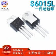 10 pçs/lote S6015L 15A Unidirecional SCR 600V Triode PARA-220 em Estoque