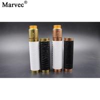 Original MARVEC Darkness Skin Mod Kit Electronic Cigarette Mechanical Mech Mod Fit 510 RDA RBA Atomizer 18650 Vape Vaporizer Kit