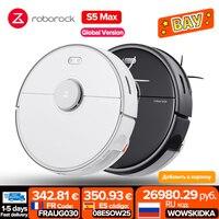 [-€25 código: 08ESOW25 ] Roborock-Robot aspirador S5 Max, Control de la aplicación en casa, Upgr a S7 barrido automático inteligente, esterilizador de polvo, mopa de limpieza, vacuum cleaner