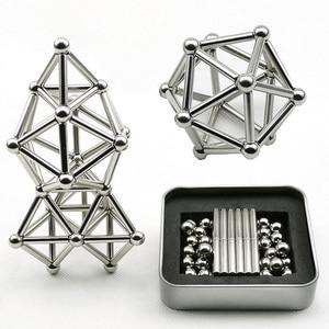 63Pcs Innovative Metal Magnet