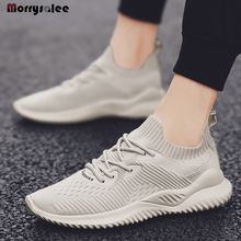 2020 Men's Shoes Sneakers Breathable Light Casual Men's Shoes Lace-up Comfortable Flat Men's Sneakers Breathable