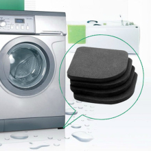 купить High Quality Washing machine shock pads Non-slip mats Refrigerator Anti-vibration pad 4pcs/set Quality по цене 170.64 рублей