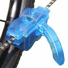 Przenośny środek czyszczący do łańcucha rowerowego rower górski urządzenie oczyszczające szczotki zestaw do czyszczenia roweru szosowego MTB Outdoor Sports Wash Tools tanie tanio ROBESBON YQ012-Cleaner