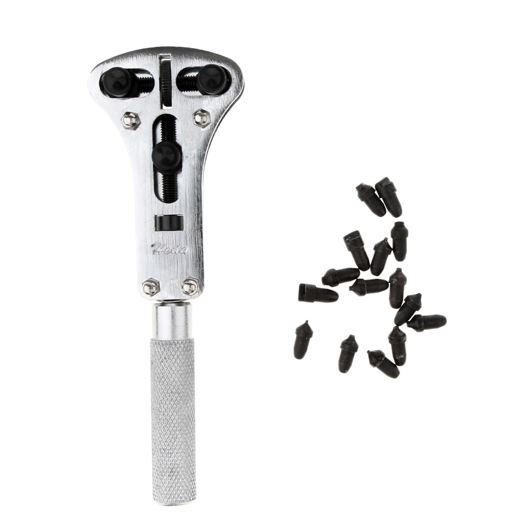 Prefessional 16mm - 37mm Wrench Screw Remover Watch Back Case Cover Opener Tool for Watchmakers
