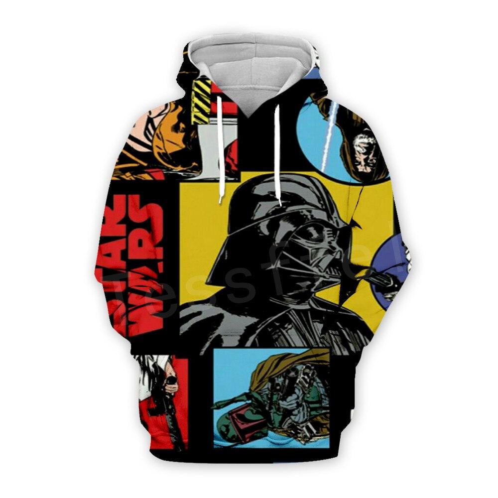 Tessffel Star Wars Darth Vader New Fashion Harajuku Casual Tracksuit 3DfullPrint Hoodie/Sweatshirt/Jacket/Mens Womens S11