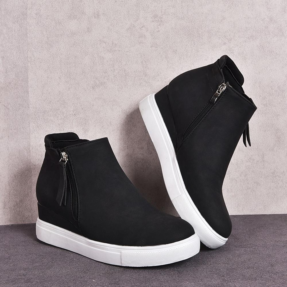 High Quality Women Sneakers New Wedges Breathable Comfortable Vulcanize Shoes Women's Casual Shoes Zapatillas Deportivas Mujer
