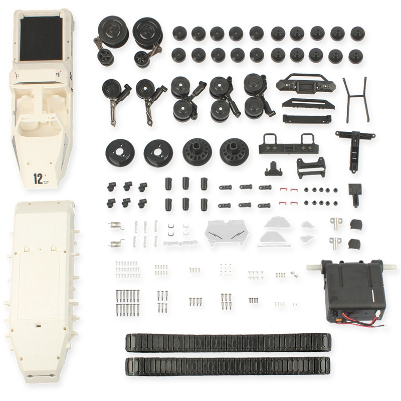 SG 1203 KIT Version 1/12 Drift RC Tank Car Off-Road Truck Without ESC Battery Transmitter Receiver