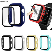 3D 9H Tempered Glass Screen Protector Cover For Apple Watch