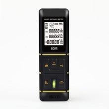 HORSEDM télémètre Laser précis 2mm ruban à mesurer Laser, construction roulette mesure de la Distance mètre à bande/pouce/pieds/muet