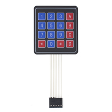 100 Uds. Matriz de matriz 4*4/teclado de matriz 16 teclas teclado de membrana