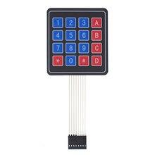 100pcs 4*4 Matrix Array/Matrix Tastiera 16 Tasti A Membrana Interruttore Tastiera