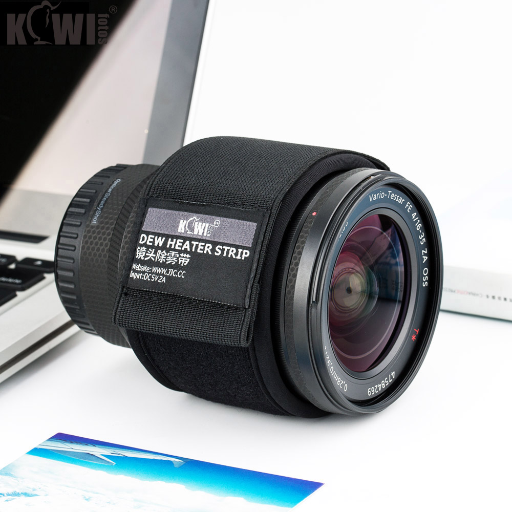 Lens Heater USB Dew Heater Dew Remover Lens Warmer For Nikon Canon Sony Olympus Fujifilm Lens Telescopes Condensation Prevention