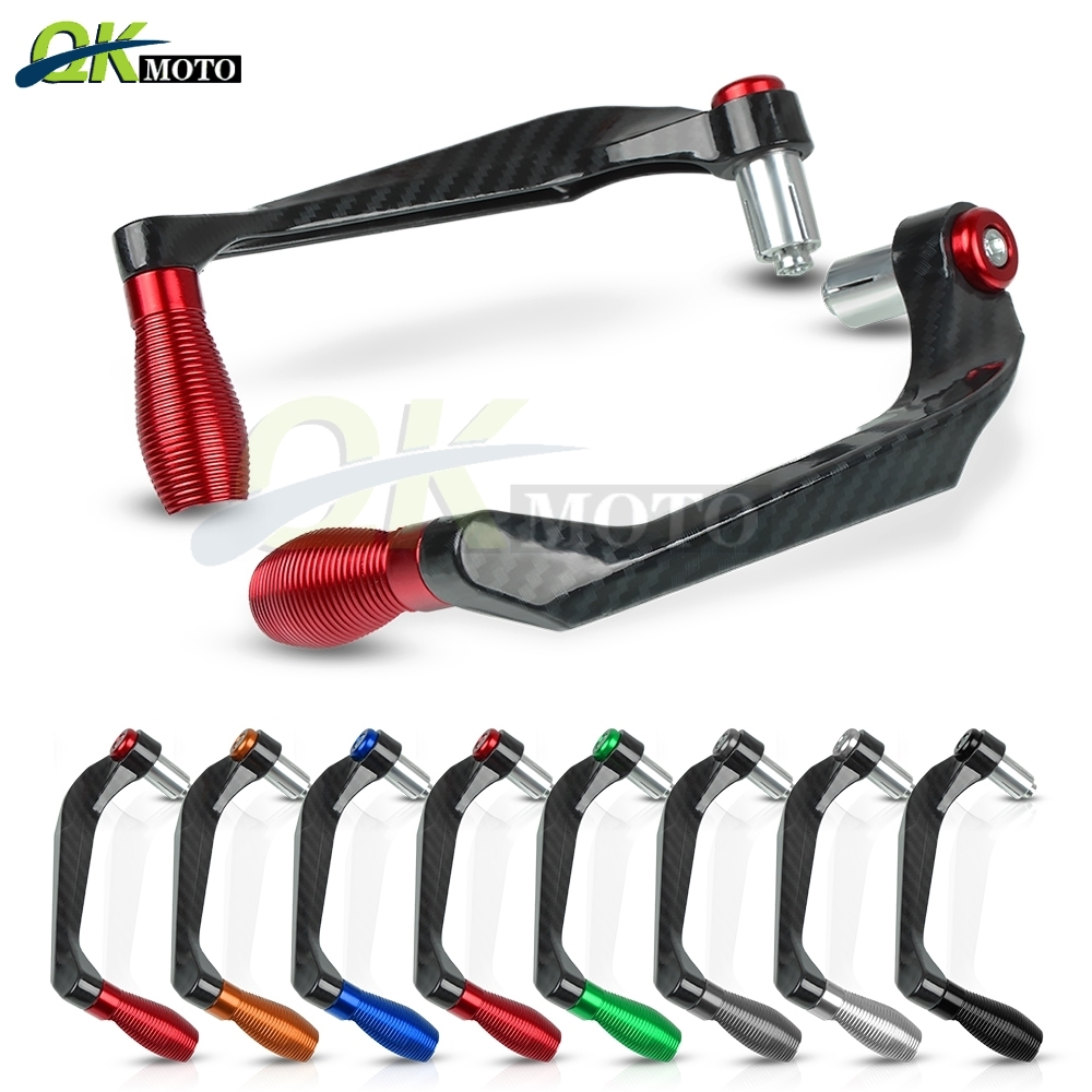 CNC Motorcycle Bike Short Front Brake /&Clutch Lever Protection Handle Bar