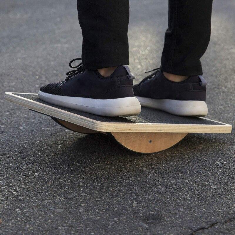 Wooden Balance Board Yoga Twister Waist Leg Muscles Workout Anti-Slip Core Strength Stability Training Equipment M2101
