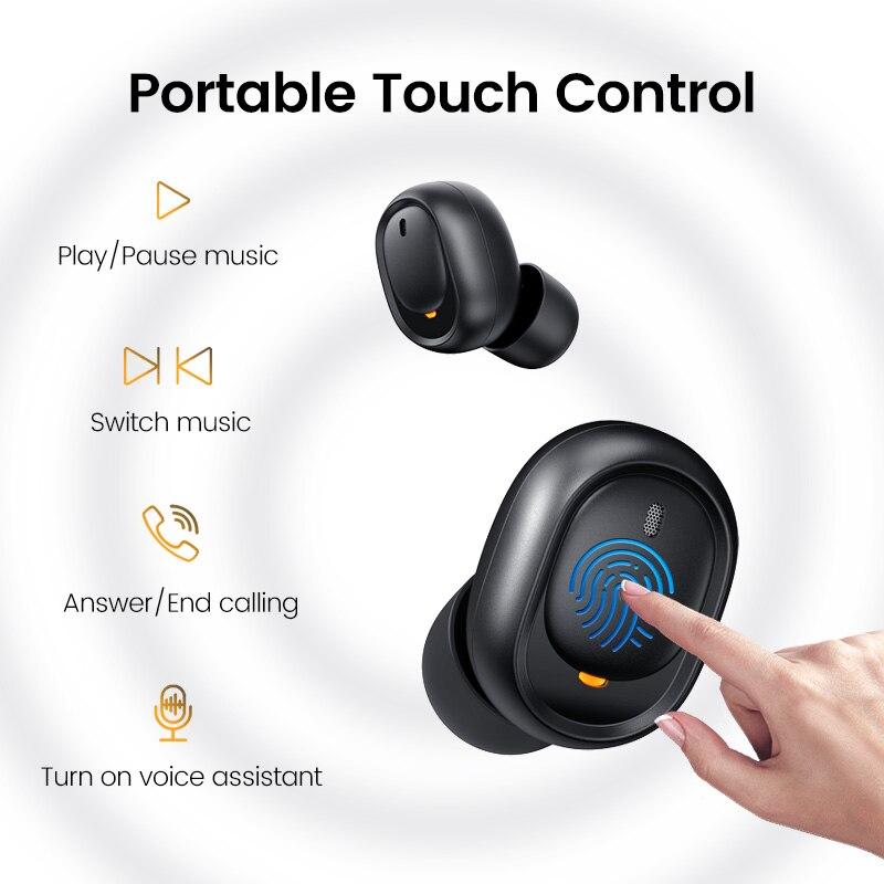 Ugreen TWS Headphones Bluetooth Earphones True Wireless Stereo Earbuds In Ear Headset Ear Buds for Sport TWS Bluetooth Headphone 1