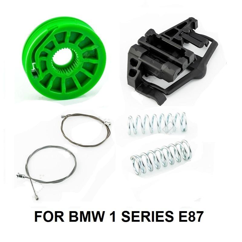 CAR WINDOW KIT FOR BMW 1 SERIES E87 51357138468 WINDOW REGULATOR REPAIR KIT REAR RIGHT 2003-2013